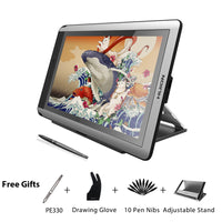 HUION KAMVAS GT 156HD V2 Pen Display Monitor 15.6 inch Digital Graphics Drawing Tablet Monitor with 8192 Levels and Free Gifts