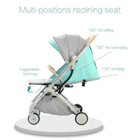 Kidlove Tianrui Baby Portable Stroller Sit or Lie Foldable Mini Pocket Cart with Umbrella
