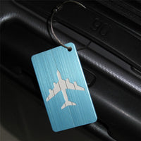 New 1pc Aluminium Luggage Tags Suitcase Label Name Address ID Bag Baggage Tag Travel Garment Baggage Tags