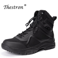 New Men's Tactical Boots High To Help Men's High Quality Large Size Shoes Military Uniform Boots Fashion Men's Steel Claw Boots