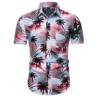 Summer Hawaiian Men shirt Casual Men's Short Sleeve shirt Casual