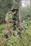 Summer Thin Quick drying Bionic Camouflage Suit Fishing Hunting Clothes Tactical Ghillie Suit Jacket Pants Set