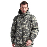 TAD 4.0 Gear Tactical Soft Shell Camouflage Outdoors Hike Jacket