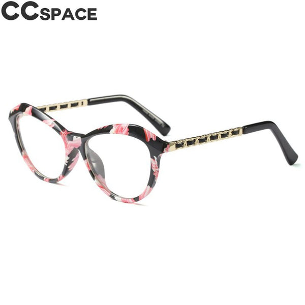 Sexy Cat Eye Ladies Khaki Square Glasses