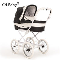 CH baby Stroller high landscape can sit or lie ultra lightweight folding baby strollers small explosion wheel stroller