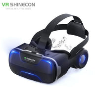 Blu Ray VR Virtual Reality 3D Glasses Box Stereo VR Google Cardboard Headset Helmet for IOS Android Smartphone,Bluetooth Rocker