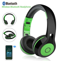 Wireless Headset Bluetooth Super STEREO Headphones Built in Mic Handfree for phone/ tablet