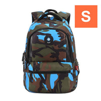 Camouflage Waterproof Nylon School Bags For Boys Orthopedic Schoolbag Children's Backpacks Kids Bag Mochila Escolar sac a dos