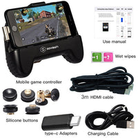HDMI Mobile Game Controller 1080P HDMI Display Phone to TV Projector Gamepad Joystick Trigger l1r1 for iphone for Xiaomi Huawei
