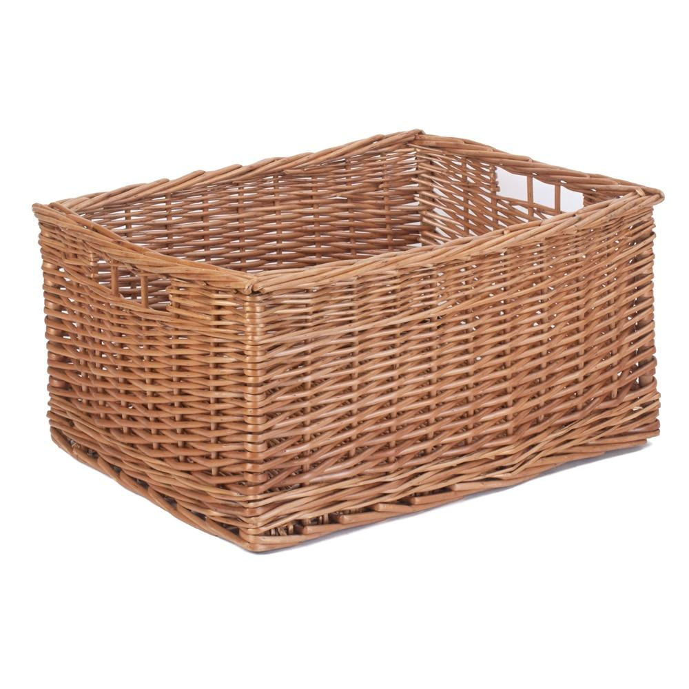 Double Steamed Wicker Storage Basket