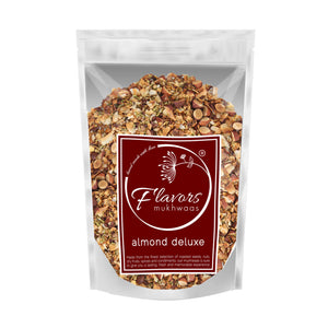 flavors mukhwaas almond deluxe mukhwas mouth freshener digestive after meal snack front