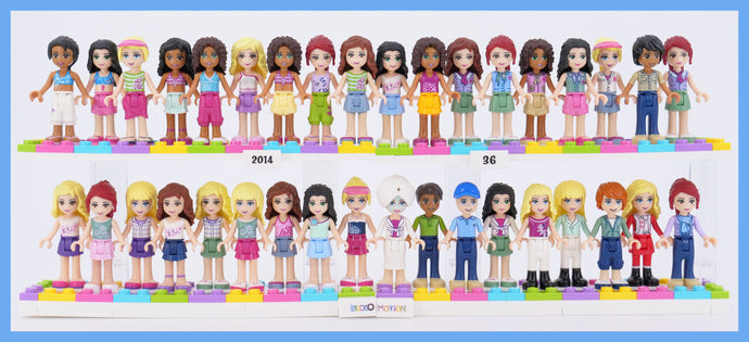 2014's Subtle LEGO Friends Minidolls Changes