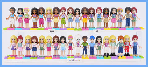 All 2014 LEGO Friends Minidolls