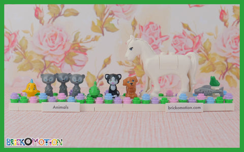 All animals from the 2014 Disney Princess sets