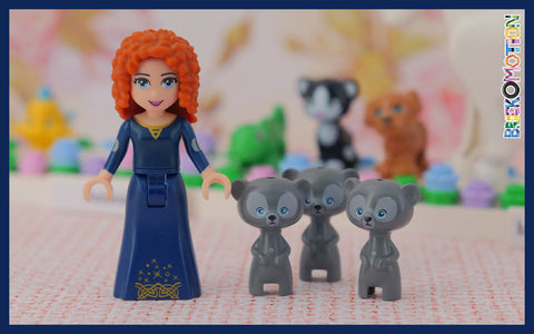 Merida and her bear brothers
