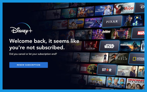 No Disney+ for me for at least several more months