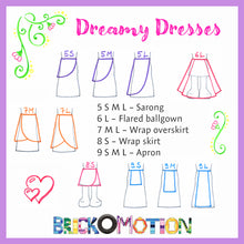 Load image into Gallery viewer, Dreamy Dresses Pattern Sketches 2
