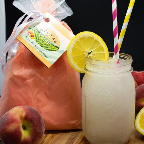 White Peach Sangria Slushy Mix
