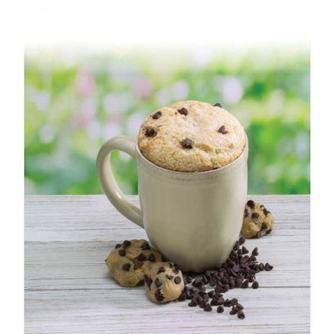 Chocolate Chip cookie Dough Microwave Mug Cake
