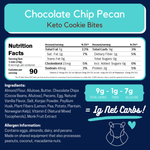 Chocolate Chip Pecan Keto Bites
