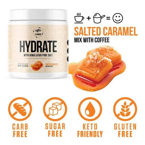Hydrate- Electrolyte for Coffee or Tea - Salted Caramel