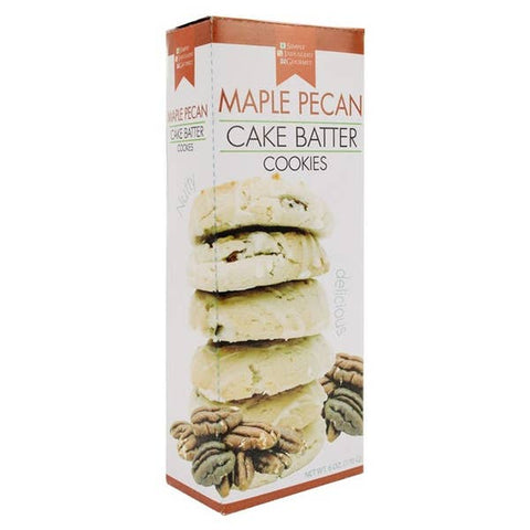 Cake Batter Cookies - Maple Pecan
