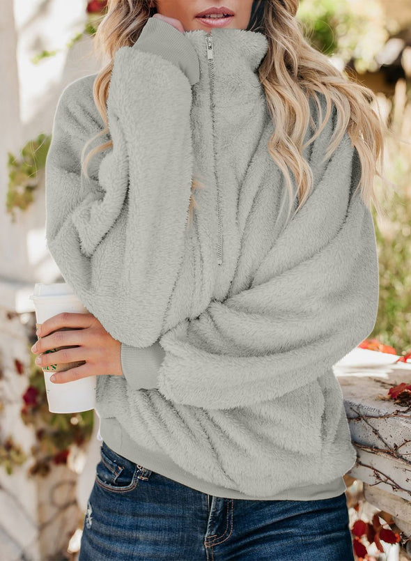 Traverse Pocketed Sherpa Pullover