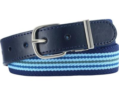 Blue Striped Children's Belt by Playshoes