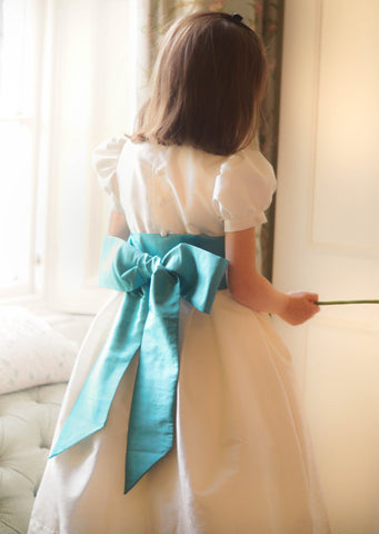 Thai Silk Sashes for flower girls and bridesmaids