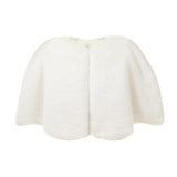 Faux Fur Children's Bridal Cape by Helen Moore