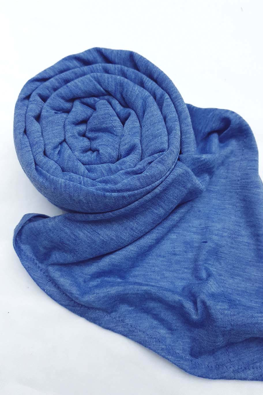 Light Blue Hijab (Separate Inner Cap Included)
