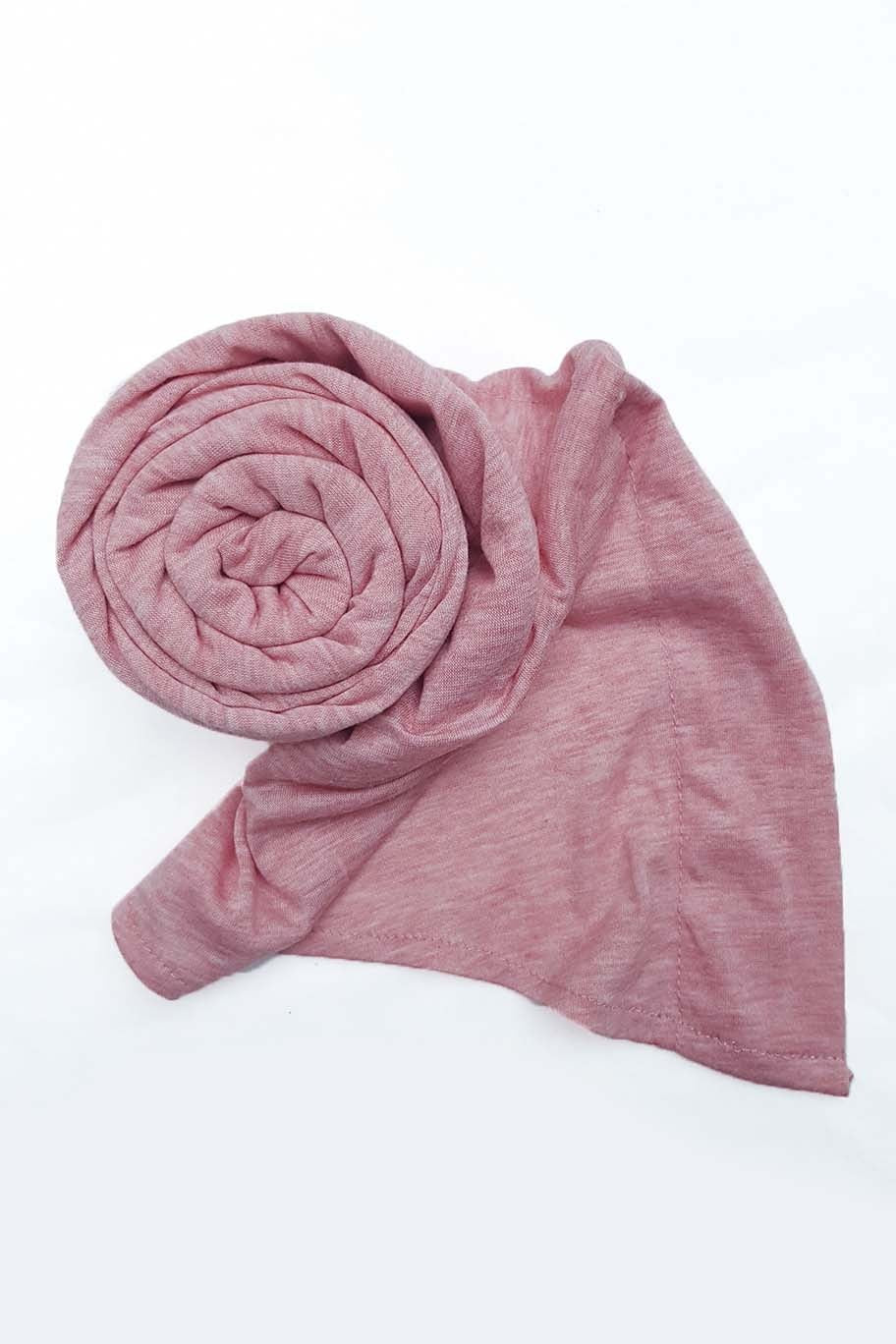 Carnation Pink Jersey Hijab (Separate Inner Cap Included) - Jersey Hijab - The Modest Look