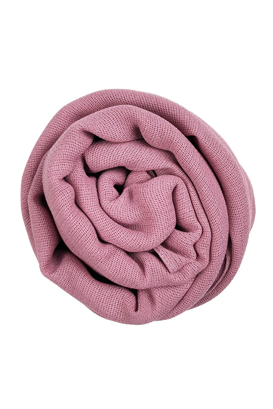 Pink Sand Jute Cotton - Jute-Cotton Hijab - The Modest Look