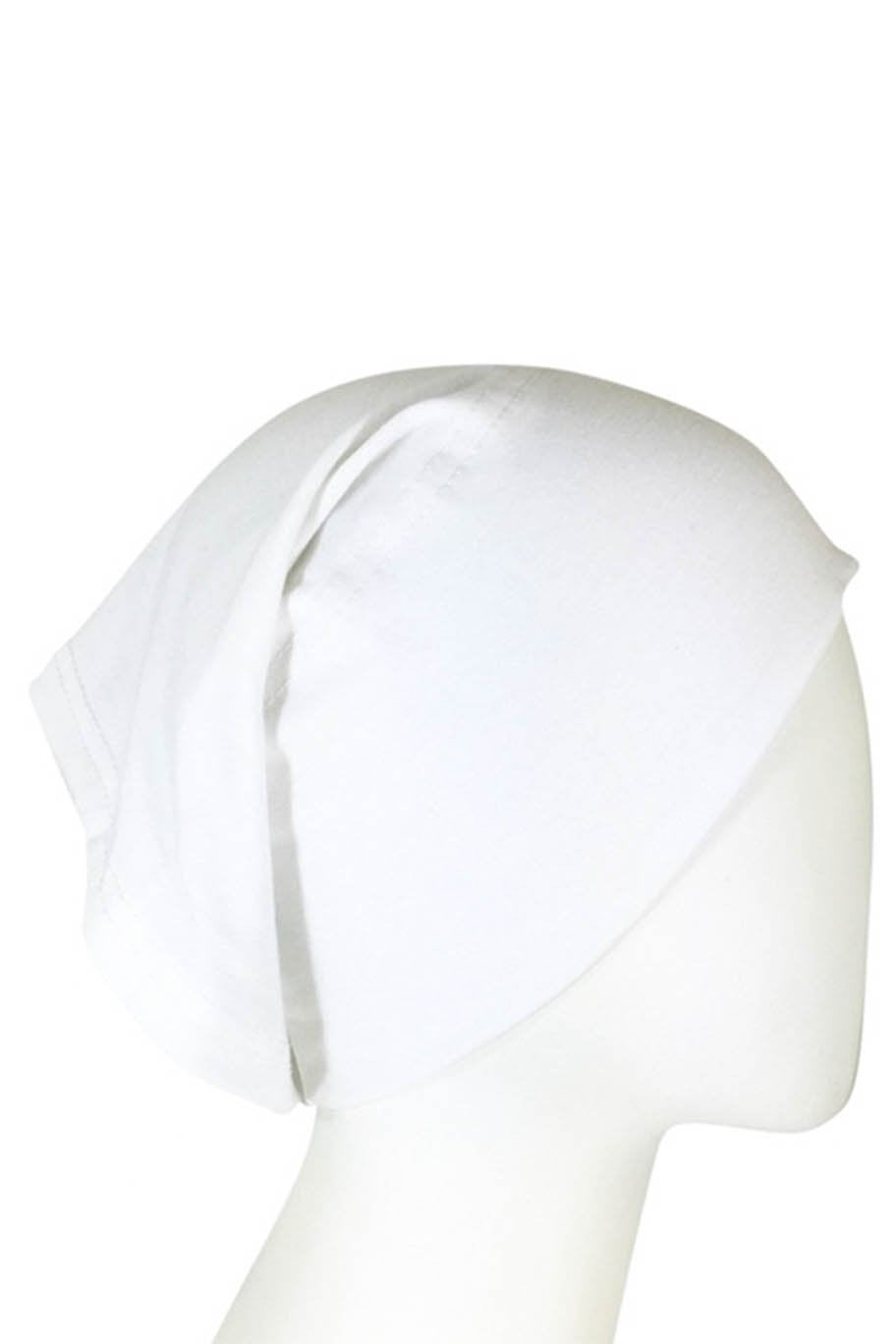 White Under-cap for Hijab - Under-Caps - The Modest Look