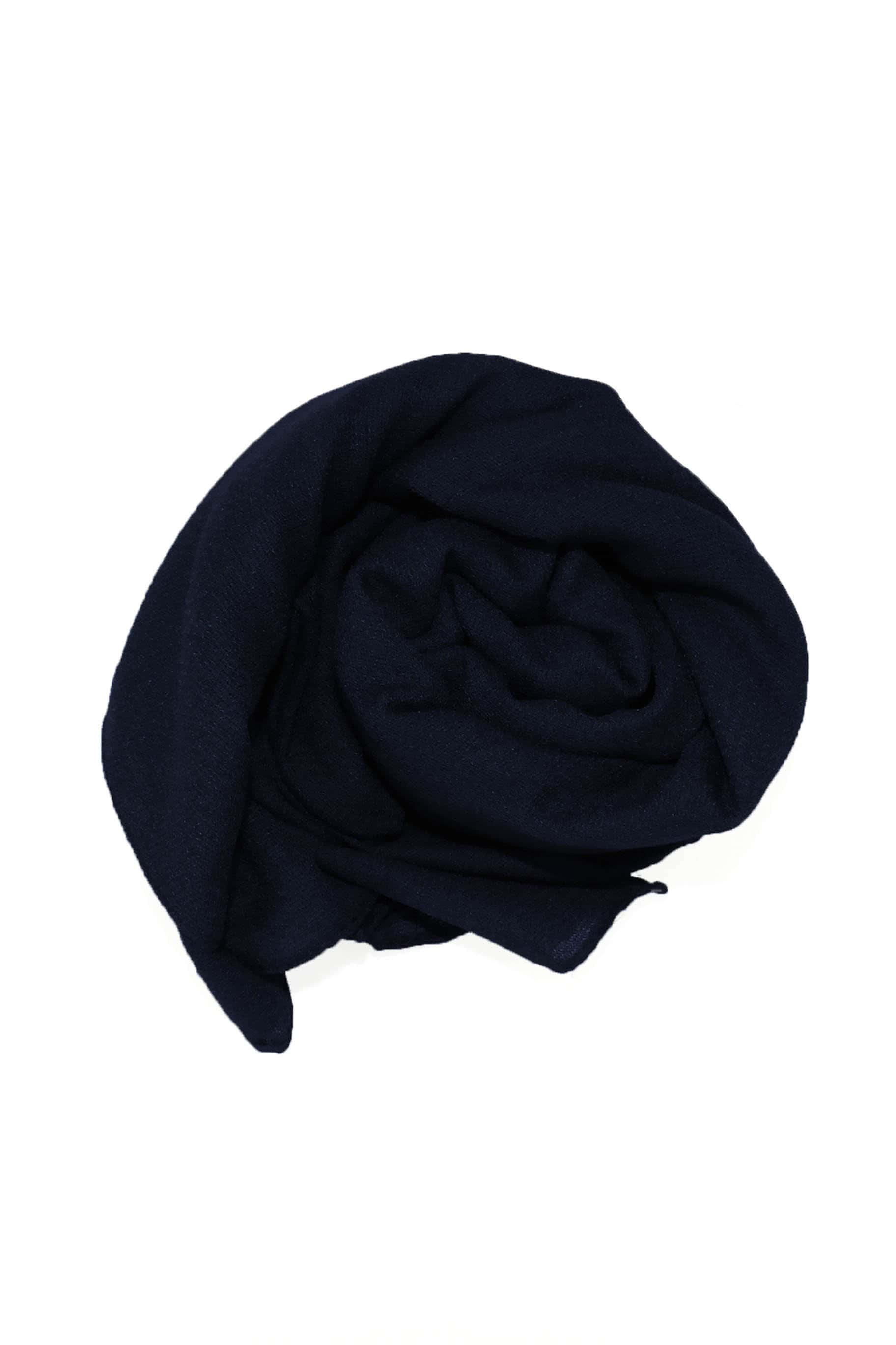 Bruised Blue Jute Cotton - Jute-Cotton Hijab - The Modest Look