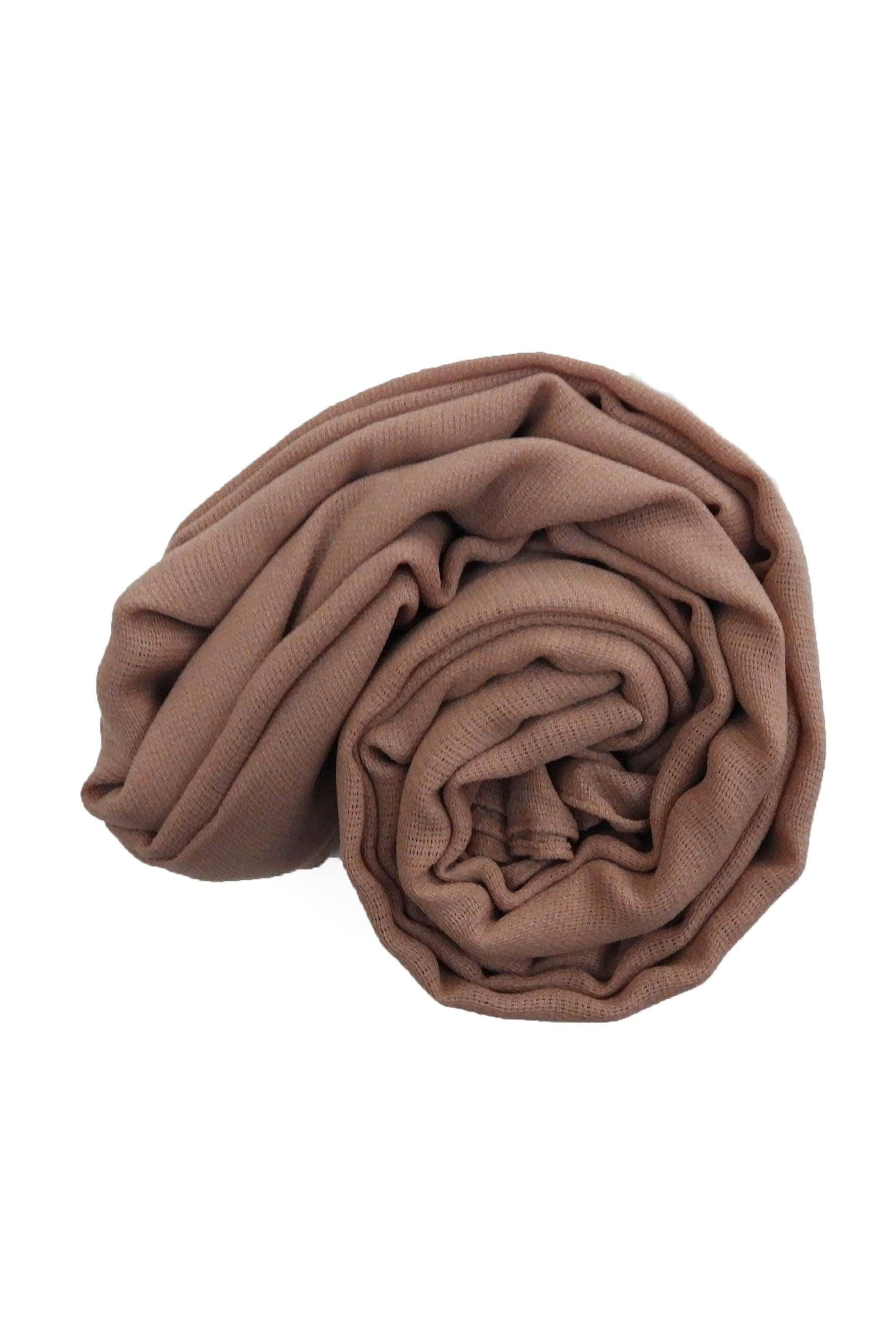 Natural Nude Jute Cotton - Jute-Cotton Hijab - The Modest Look