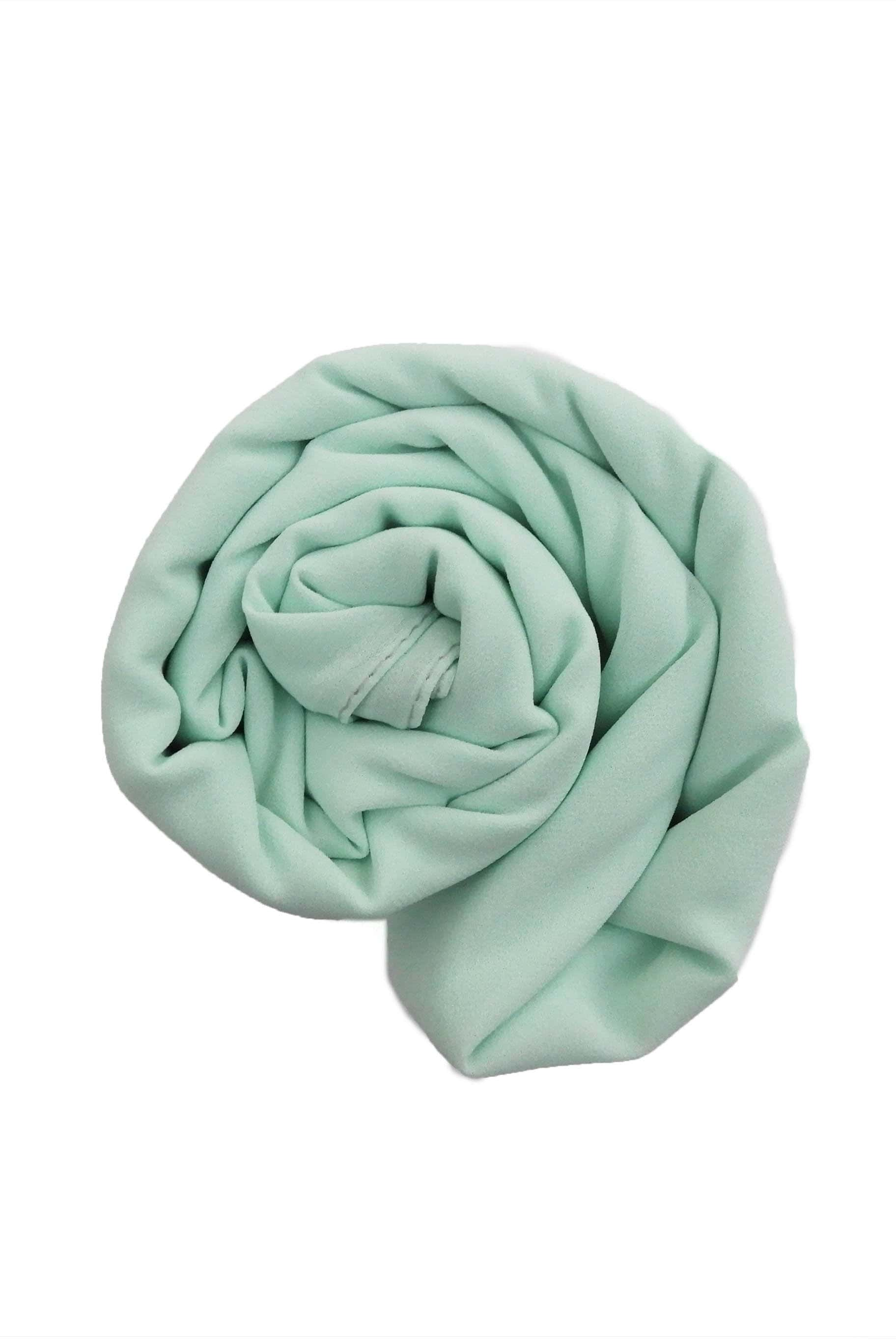 Mint Green Chiffon Hijab - Chiffon Hijab - The Modest Look