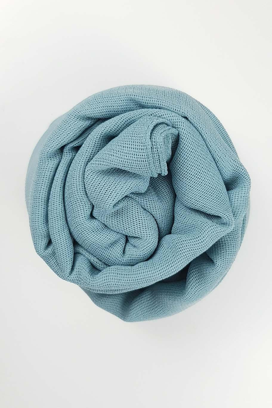 Mint Green Jute Cotton - Jute-Cotton Hijab - The Modest Look