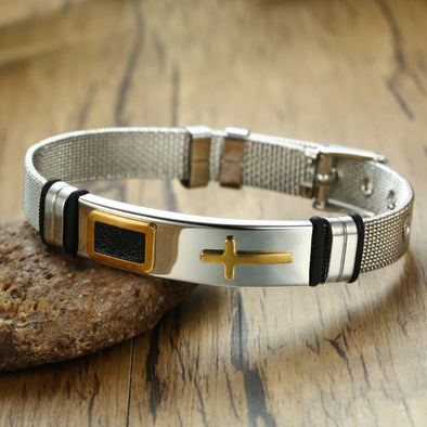 Luxury Divine Faith Cross Bracelet