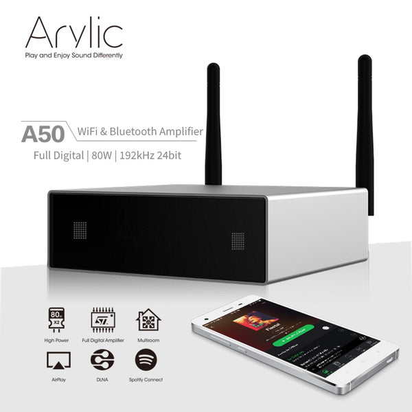 Review: Arylic A50 Wireless Multiroom Amplifer - by SoundBlab