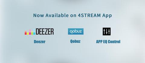 App Update: Deezer, Qobuz, EQ Control now available