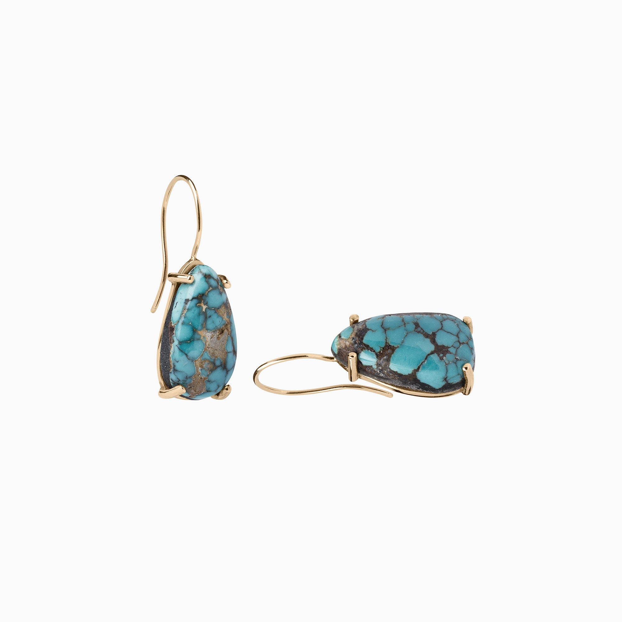 Nessa Designs Jewelry | Earrings | Tranquil Blues Turquoise Earrings