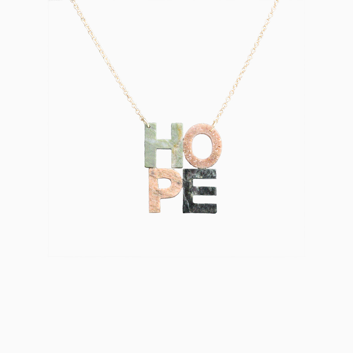 Adriatic Hills HOPE Necklace