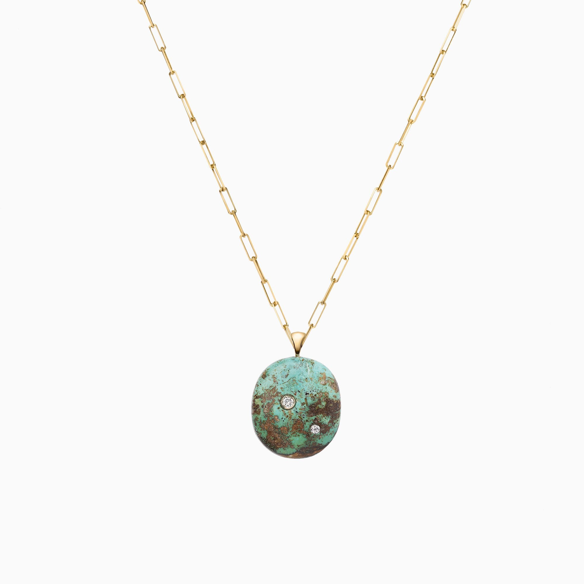 Nessa Designs Jewelry | Necklaces | Tranquil Blues Turquoise & Diamond