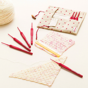 ETIMO RED crochet set