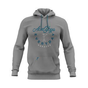 Acro Yoga Every Day Hoodie (Gray)