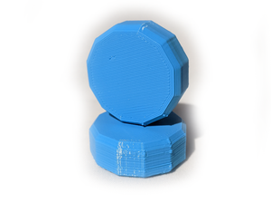 3D Printed Knob- 12 sided style