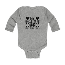 Load image into Gallery viewer, Uncle Trae Infant Long Sleeve Bodysuit