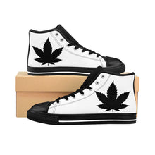 Load image into Gallery viewer, 7 Leaf Cannabis Men's High-top Sneakers