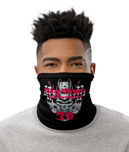 BTM #39 (Custom-Solid Background) Neck Gaiter/ Mask